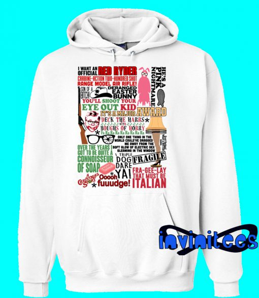 A Christmas Story Funny Holiday Movie Hoodie