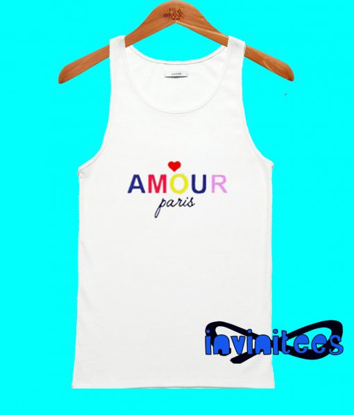 Amour Paris Tank Top