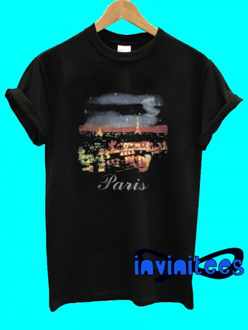 Balenciaga Balenciaga Night Life of Paris City T-Shirt