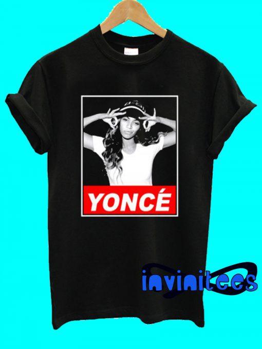 Beyonce Yonce Obey T-Shirt