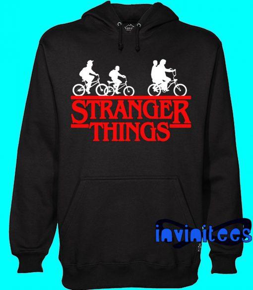 Bikes Stranger Things Hoodie