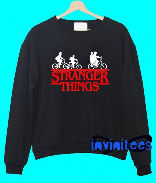 Bikes Stranger Things Sweatshirt
