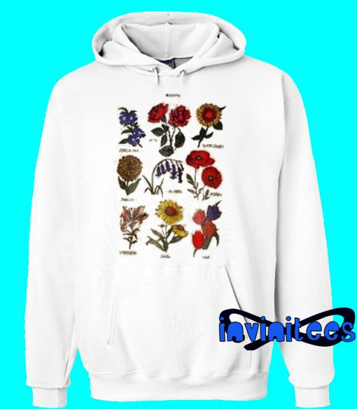 Blooms Flower Hoodie