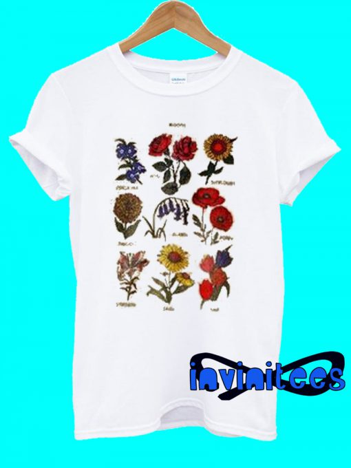 Blooms Flower T-Shirt
