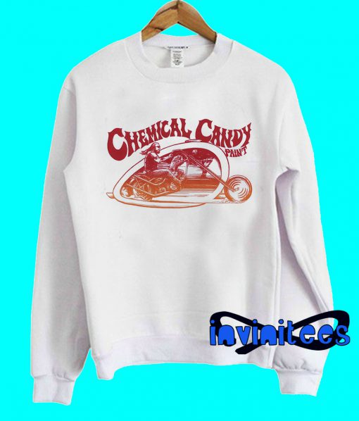 Chemical Candy Blended Biker Sweatshirt