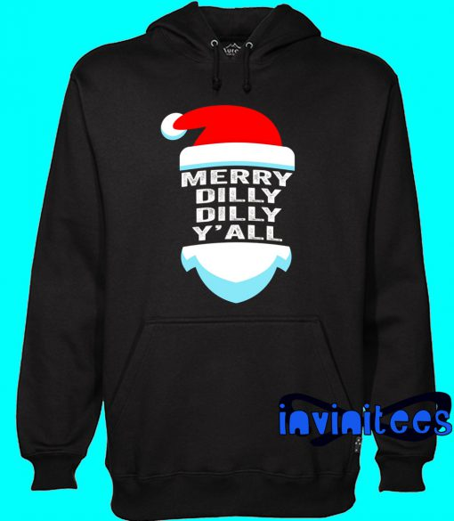 Dilly Dilly Yall Santa Hat Christmas Hoodie