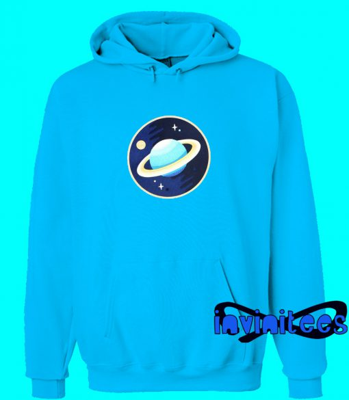 Galaxy Planet Rad Look Embroidered Hoodie