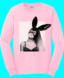 Ariana Grande's Dangerous Woman Tour Light Pink Sweatshirt