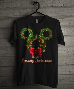 A Merry Mousey Christmas T Shirt