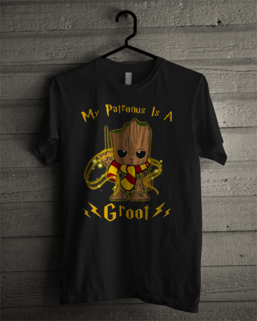 Official Groot My Patronus Is A T Shirt