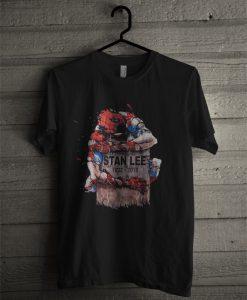 Spider Man Stan Lee Memorial 1922 - 2018 T Shirt