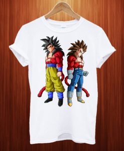 Super Saiyan 4 Goku & Vegeta T Shirt