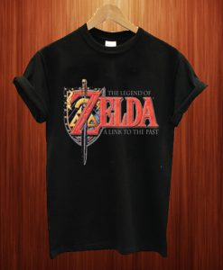 The Legend Of Zelda A Link To The Past Black T Shirt