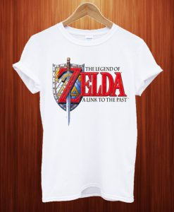 The Legend Of Zelda A Link To The Past White T Shirt