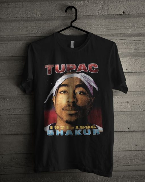 Tupac Shakur 1971-1996 Death Urban Hip Hop T Shirt