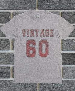 1960 Vintage Jersey T Shirt