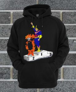 All Might And Enji Todoroki Hoodie