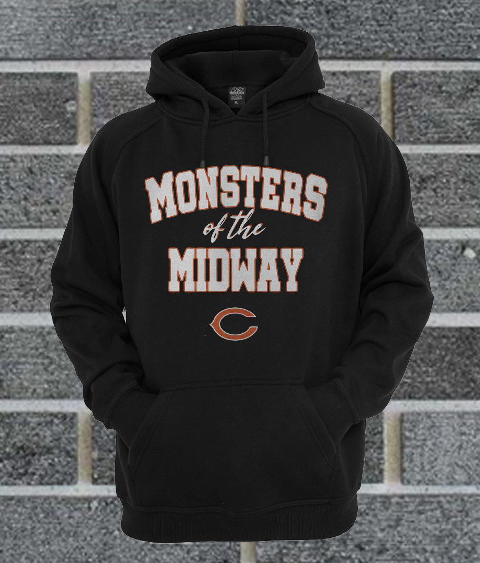 the best attitude 16081 4e23c Chicago Bears Monsters Of The Midway Hoodie