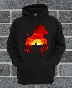 Red Horse Sunset Hoodie
