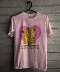 The Lion King Girls Pink T Shirt