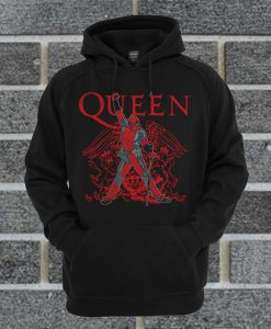 The Queen Freddie Mercury Deadpool Guys Hoodie