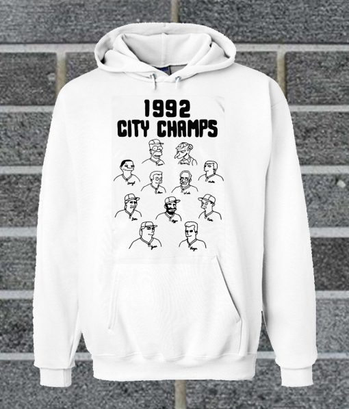The Simpsons 1992 City Champs Hoodie