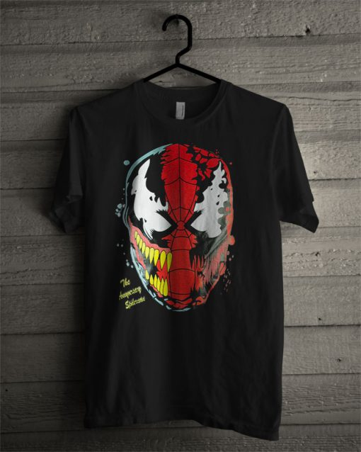 Venom Spiderman T Shirt