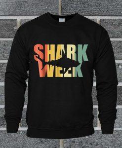 Vintage Week Of The Shark Sweatshirt