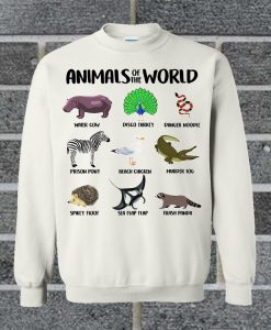 Animals Of The World Sweatshirt