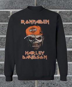 Official Iron Maiden Harley Davidson Sweatshirt
