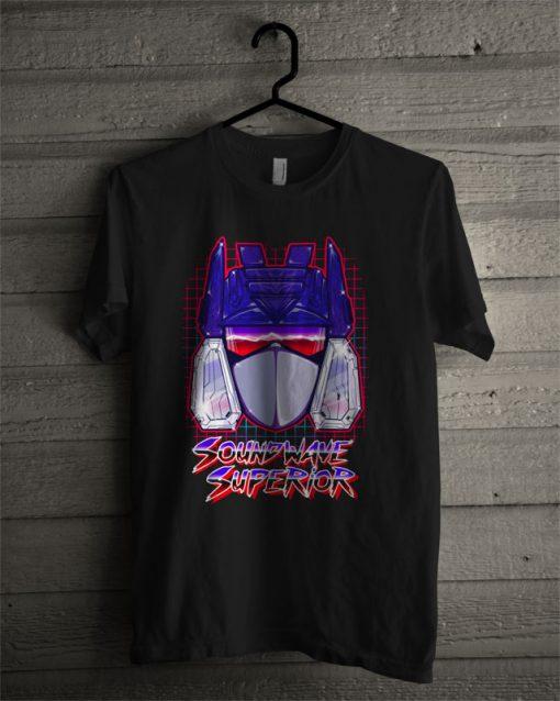 Soundwave Superior T Shirt
