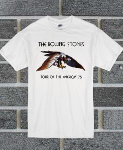 The Rolling Stone Tour Of The Americas 75 T Shirt