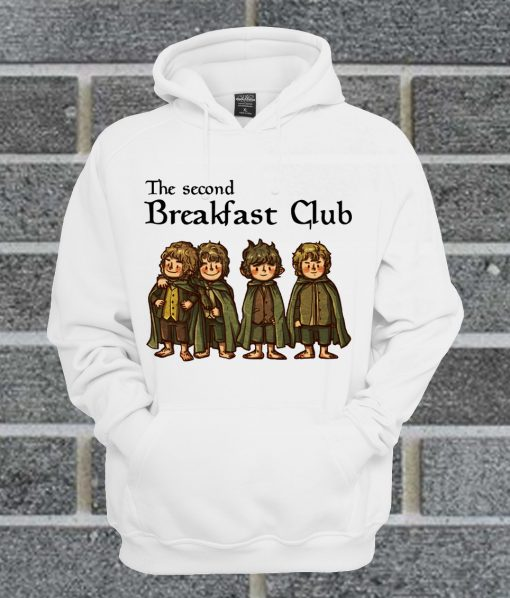 The Second Breakfast Club The Lord Of The Rings Hoodie