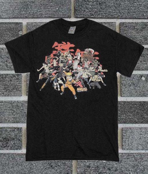 Vintage Naruto T Shirt