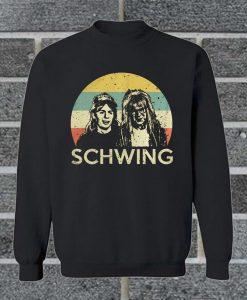 Wayne And Garth Schwing Sweatshirt
