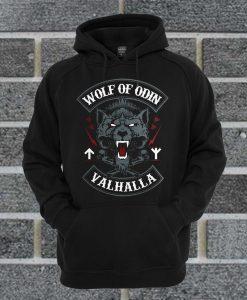 Wolf Of Odin Valhalla Hoodie