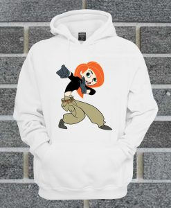 Womens Hot Topic Screw Neck Kim Possible Hoodie