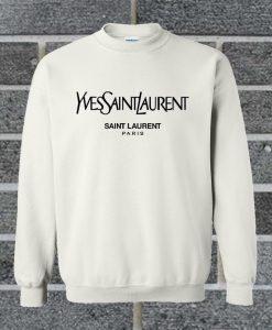 Yvessaintlauren Saint Laurent Paris Sweatshirt