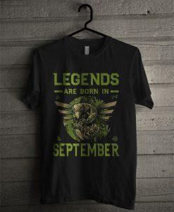 Zelda Legends Are Born In September T Shirt