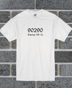 90290 Topanga Los Angels T Shirt