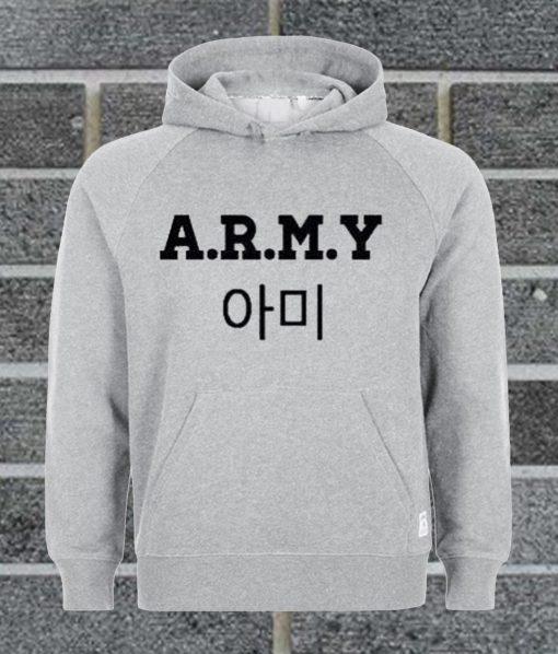 A.R.M.Y BTS Crewneck Hoodie