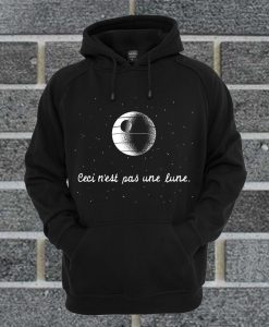 This Is Not A Moon Hoodie