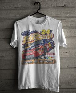 Vtg Jeff Gordon Fire Storm T Shirt