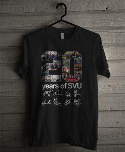 20 Years Of SVU T Shirt