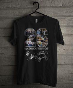 26 Years Of Backstreet Boys T Shirt