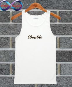 Letter Double Tank Top