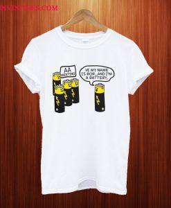 AA Battery T Shirt