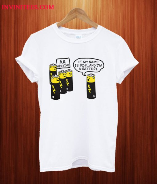 AA Battery T Shirt