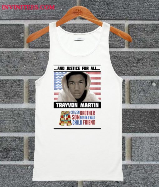 And Justice Trayvon Martin Tank Top