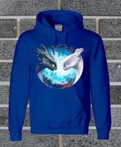 Toothless And Light Fury Romantic Love Hoodie